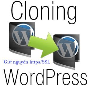 clone wordpress ssl